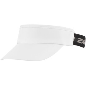 2XU Performance Headwear white/black